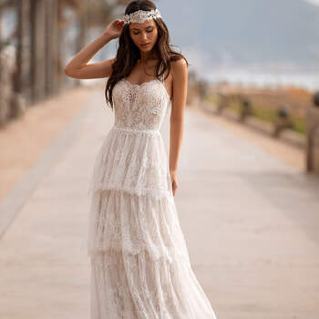 Créditos: Pronovias Cruise 2021 | Modelo do vestido: Grahame