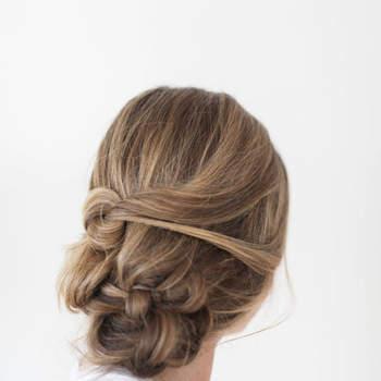 Penteado para noiva com cabelo preso   Foto: Ruth Eileen