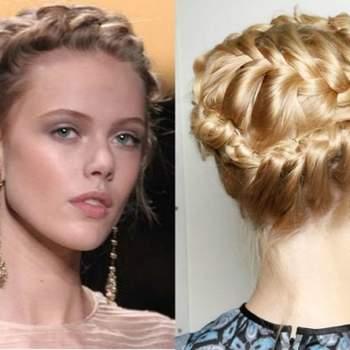 Deux idées pour coiffure de mariage romantique. Photo : decido.it