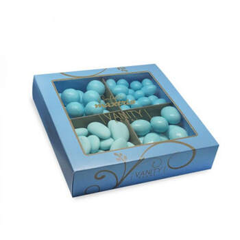 Almendras maxtris vanity regal azul claro - Compra en The Wedding Shop