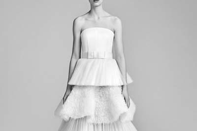 Vestidos de novia palabra de honor. ¡Un clásico que no debes dejar escapar!