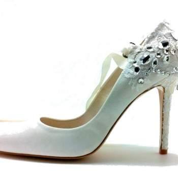 Chaussures Mademoiselle Rose - modèle Tour Eiffel