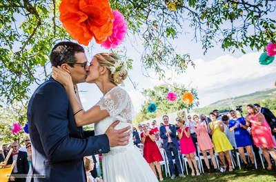 La couleur de votre mariage, les petits conseils de l'agence Label' Emotion Montpellier