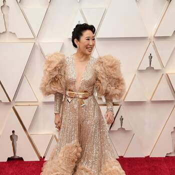 Sandra Oh | Elie Saab | Crédits: Cordon Press