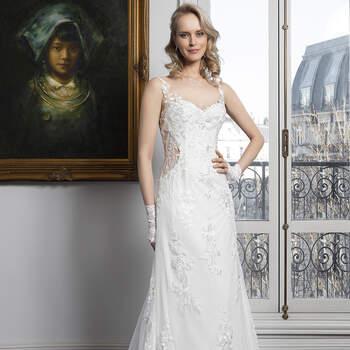 Photo : Robe de mariée Rosalinda Bella Créations 2020 - Les Mariées de Talia