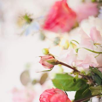Rosa und Pink, 2 der beliebtesten Farben für die Tischdeko. Foto: 2Rings Trouwfotografie (Holland)