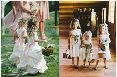 So integrieren Sie Kinder in Ihre Hochzeit
