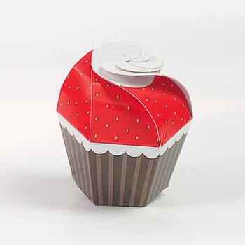 Cupcake fragola 20 unidades- Compra en The Wedding Shop