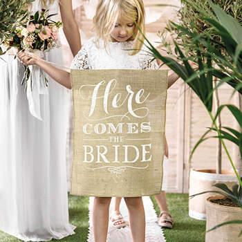 Guirlanda Here Comes The Bride - The Wedding Shop