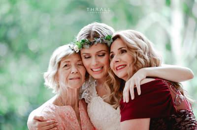 Especial Dia das Mães: os mais lindos registros entre mães e seus filhos em casamentos!
