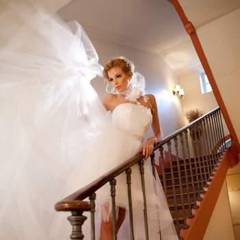 Robe de mariée Oksana Mukha 2012, modèle Leila. - Source : Oksana Mukha