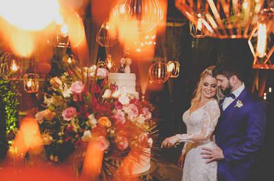 Casamento boho chic de Laila & Paulo: ao ar livre, em cenário DESLUMBRANTE no Espírito Santo!