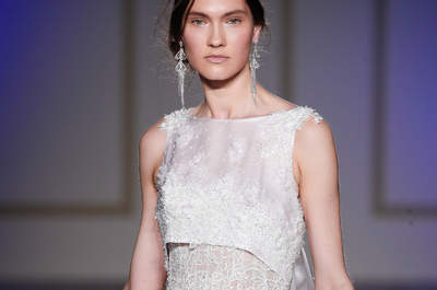 Свадебные платья с вырезом лодочка. Настоящая элегантность!