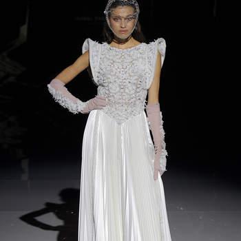 Isabel Zapardiez. Créditos: Barcelona Bridal Fashion Week