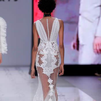Photo : YolanCris.  Credits_ Barcelona Bridal Fashion Week