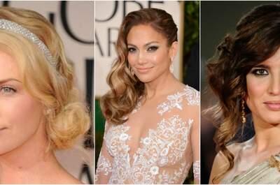 Penteados com o cabelo de lado fazem a cabeça de noivas e convidadas