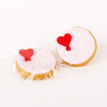 Bizcocho glaseado corazón- Compra en The Wedding Shop