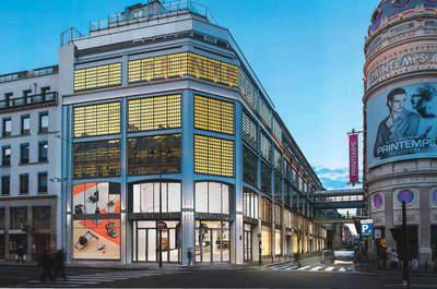 Le Printemps Haussmann se transforme en triplex parisien pour son espace Maison