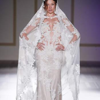 Robes de mariée transparentes : misez sur l'effet tatouage pour votre mariage !