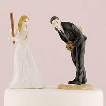 Cake Topper Baseball - The Wedding Shop !
