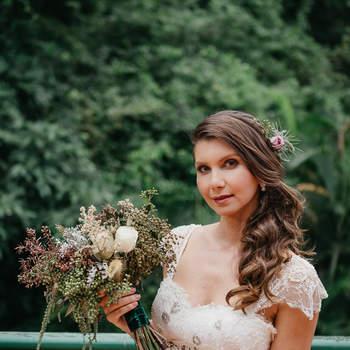 Vestido Mariana Kuenerz -   Foto: Ana Telma Fotografia