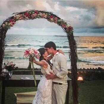 Denis Casamento na Praia | Foto: divulgação