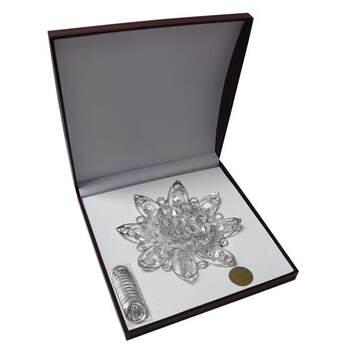 Infiniti Joyas Arras Chapa Plateada 24 Kts $1,464