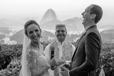 Casamento de Ana Carolina & Ronaldo: cenário espetacular diante do Pão de Açúcar!
