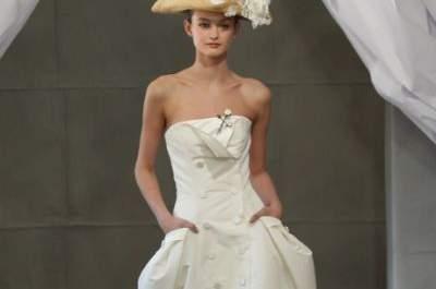 Carolina Herrera 2013: Espectaculares vestidos de novia inspirados en la fotografía