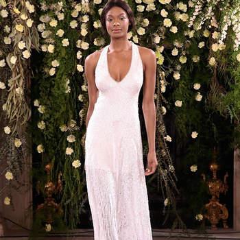 Elina, Jenny Packham. Credits: Barcelona Bridal Fashion Week