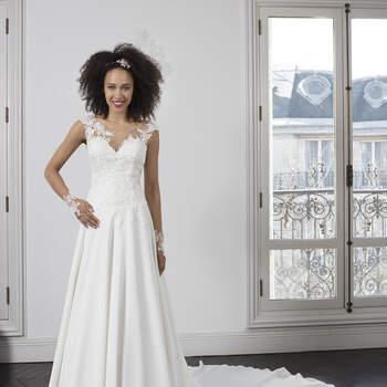 Photo : Robe de mariée Régina Bella Créations 2020 - Les Mariées de Talia