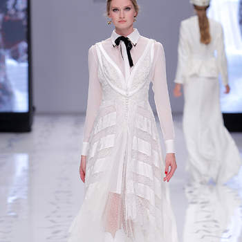 YolanCris. Credits: Valmont Barcelona Bridal Fashion Week