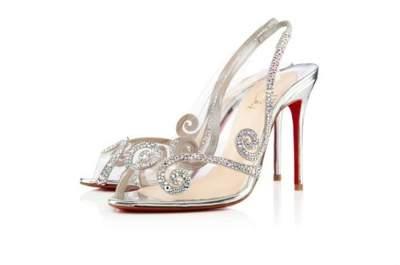 Tacones fashion: zapatillas de novia 2013 de Christian Louboutin