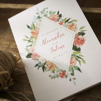 """Einladung Design """"Abelon"""""""