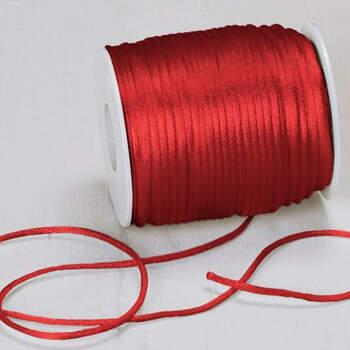 Cinta de raso roja- Compra en The Wedding Shop