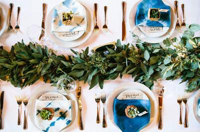 Centros de mesa 2017: ¡atención a las últimas tendencias en decoración de banquetes!