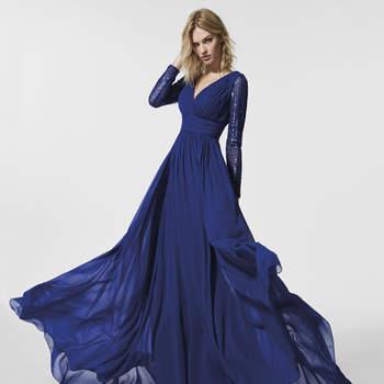 Más de 40 vestidos de fiesta azules. ¡Un tono elegante y versátil para triunfar como invitada!