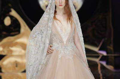27 robes de mariée de couleur 2017 : Donnez du pep's à votre look!