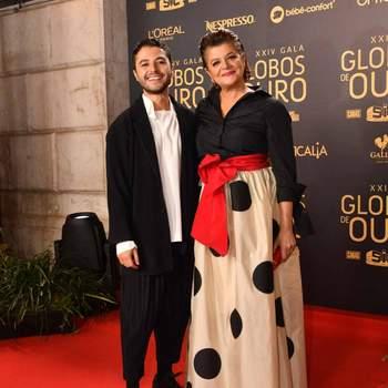 Júlia Pinheiro e o filho Rui Maria Pêgo | Foto Divulgação