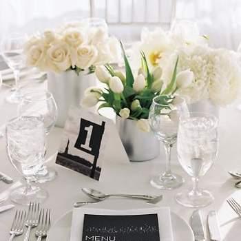 Flores blancas, siempre dan un toque de pureza.