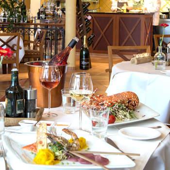Romantisches Dinner - im Restaurant Leuchtturm