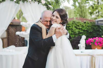 10 kluczowych powodów, dla których każda Panna Młoda potrzebuje Taty u swojego boku w dniu ślubu