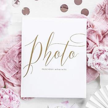 Album de fotos preciosos momentos blancos- Compra en The Wedding Shop
