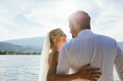 Le magnifique mariage annécien de Géraldine + Mathieu