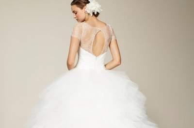 Conoce la tendencia de tocados florales para novias 2013