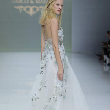 Marco & Maria. Créditos: Barcelona Bridal Fashion Week