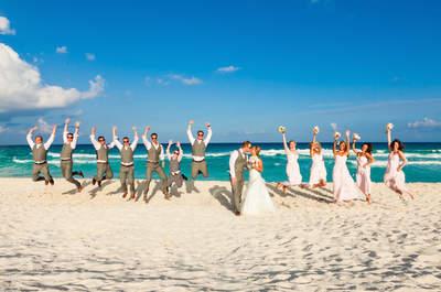 Grand Park Royal Cancún: Un hotel de lujo y la boda perfecta con una hermosa vista al mar