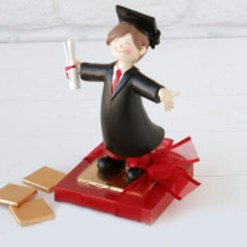 Cake Topper Laurea Jeune Garçon - The Wedding Shop !