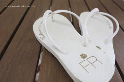 Monogramas: iniciais dos noivos podem virar marca registrada do casal