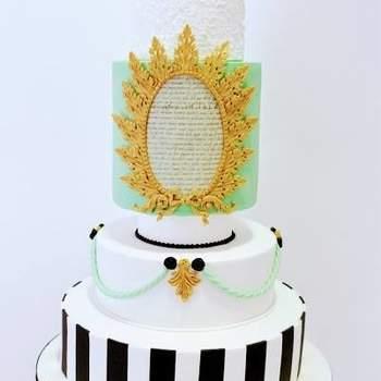 Criatividade ao máximo resultam em bolos de casamento originais e incríveis | Créditos: Atelier Silcakes- Cake Design by Sílvia Silva3